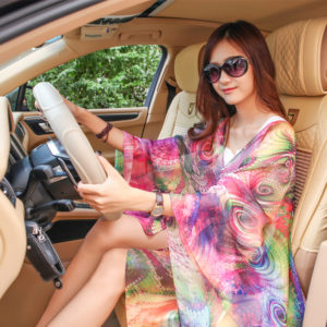 Spring & summer UV sunscreen long chiffon shawl