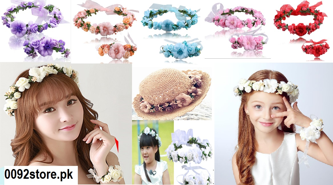 Flower Tiaras & Crowns