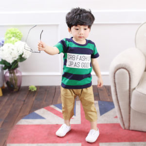1-5 years Green cotton lining Shirt & Trouser