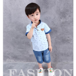 2-4 years Sky Shirt & Trouser