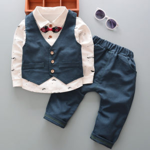 童套装-2017春款新款韩版儿童套装三件套男女童卫衣中小童装纯棉一件代发-尽在阿里巴巴 - 1