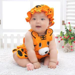 连身衣、爬服-新生儿连体衣服0纯棉3个月婴儿卡通西瓜造型哈衣1岁宝宝爬服夏装6-尽在阿里巴巴 - 2