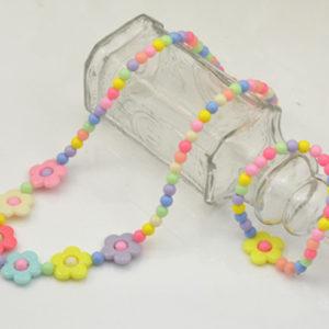 项链-韩版儿童赠品批发 儿童彩色项链项饰两件套链 七彩儿童小饰品批发-尽在阿里巴巴 - 1