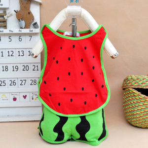 0-1 years baby watermelon soft cotton Shirt and Shorts