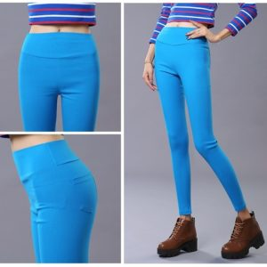 High Quality imported High Waist Cotton Pencil pants