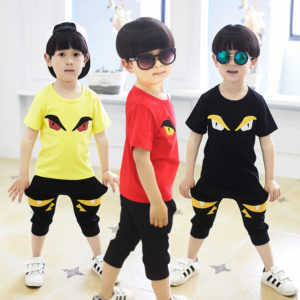2 to 8 years Angry bird 2 Colors Shirt & Shorts
