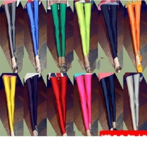 18 colors high Quality glossy Korean Trousers