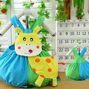 0-2 years baby Giraffe Aapplic Romper