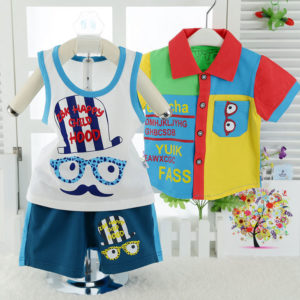 0-3 years Baby  Multi summer 3 pieces