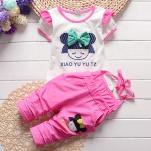 Rose Doll Shirt & strap Trouser