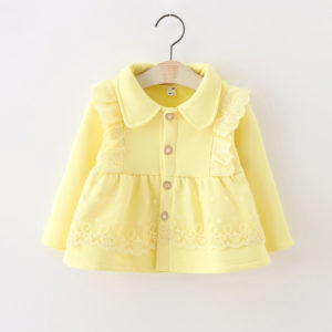 Baby Girl Yellow Lace Cute Jacket