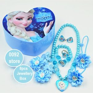 Frozen Sky Elsa 8pcs Jewllery Box