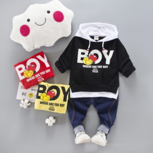 Boy Stylish Hooded Shirt & trouser