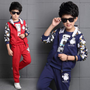 11-12 years Boy Big Hero Shirt + zipper + trouser