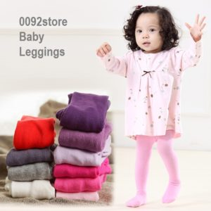 0-2 years Baby Girl Solid 5 colors cotton Legging