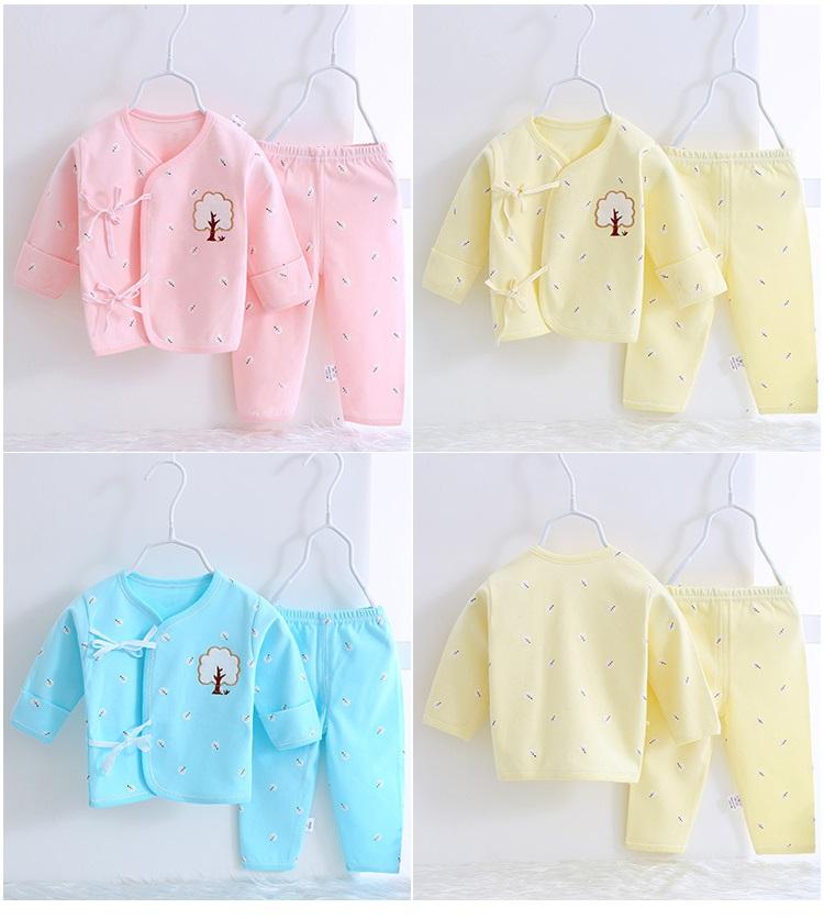 ecaf1ac7cf3f 2 Pcs organic Cotton Embroidery New Born Baby Set 0-3 & 3-6 months ...