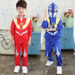 4-12 years Boy Super  Ultraman Cotton Jacket & trouser