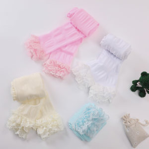 2-10years Ice cream Colors Floral Lace Legging Fashionable Tights