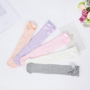 0-1 years Old Baby Girl Cotton Long Socks