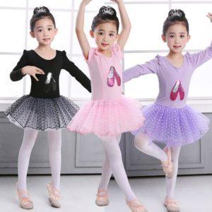 3-8 years Girl Cute Performance Ballet Dress