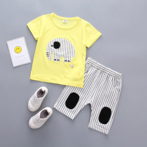 Cute Baby Boy Elephant 2 pieces