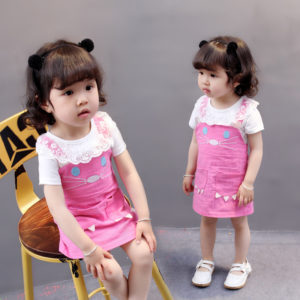0-4 years Girl Cute Cat Suit