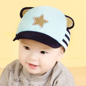Baby Boy 6-24 months Sky Blue Star cap
