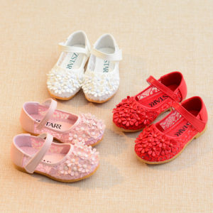 Flower Comfortable Light Wieght Baby Girl Shoes