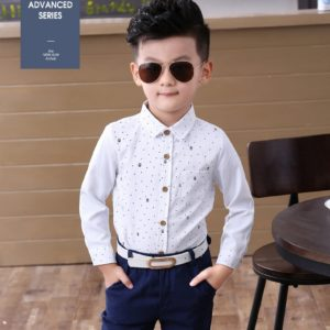 Very High Quality Boys Suit Shirt (boy can also  wear under coat )