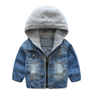 2-7 years Jeans Stylish Quality Hooded jacket