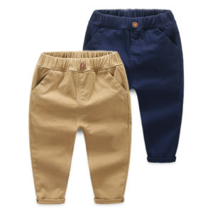 2-7 years Boy High Quality Cotton Jeans Brown Button