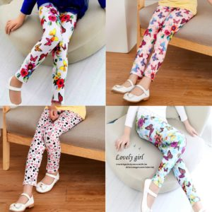 Beautiful Stylish Prints Milky  Cotton  Soft Tights Trouser