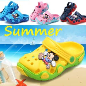 1-8 years Mickey Mouse kids Crock Shoes