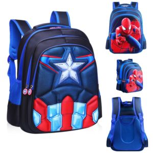 2-8 years kids imported Captain & Spiderman Kids School Bags
