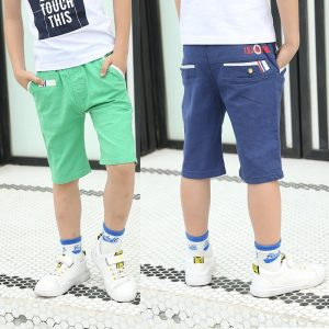 4-12 years Boys Cotton Summer Plain Shorts