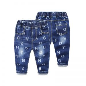 1-2 years Boy Alphabets Jeans