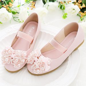 Pink Pearls Imported Extra Soft Girl Shoes