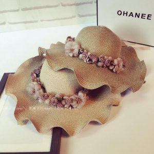 Summer Copper Floweral Hat