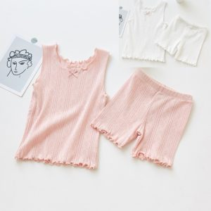 Summer Cool Soft Fabric Shirt  & Short under garments for girl