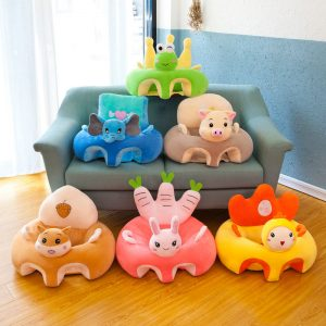 Soft Plush Kids Sitting Learning Sofa Couch