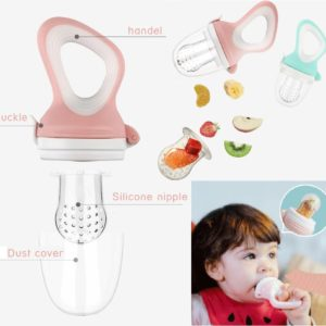 Baby Nutrition Fresh Fruits and Vegetables Feeding Complementary Silicone Food Feeder Pacifier