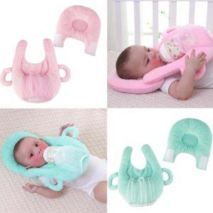 Multi Functional anti-overflow Feeding Milk anti-spitting pillow Adjustable Anti Roll Flat Head Cushion Sleep pillow