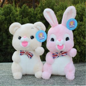 Soft Stuff Cuddling Rabbit Teddy Bear Plush Toys Comfort Toys Mother and Baby supplies