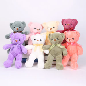 Baby Plush multi-colored  teddy bears Baby Comfort Toys Mother and Baby supplies