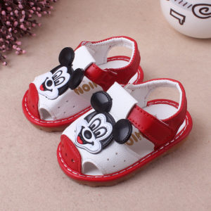 Whistle Mickey Mouse Kids Baby Soft Sandals