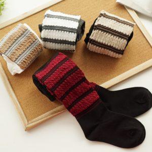 2-10 years Cotton Cute Lining Weaving Leggings